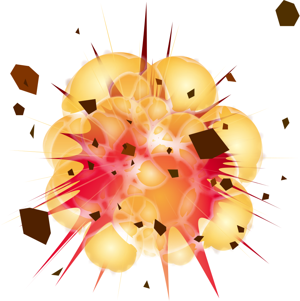 Transparent explosions. Explosion background png peoplepng