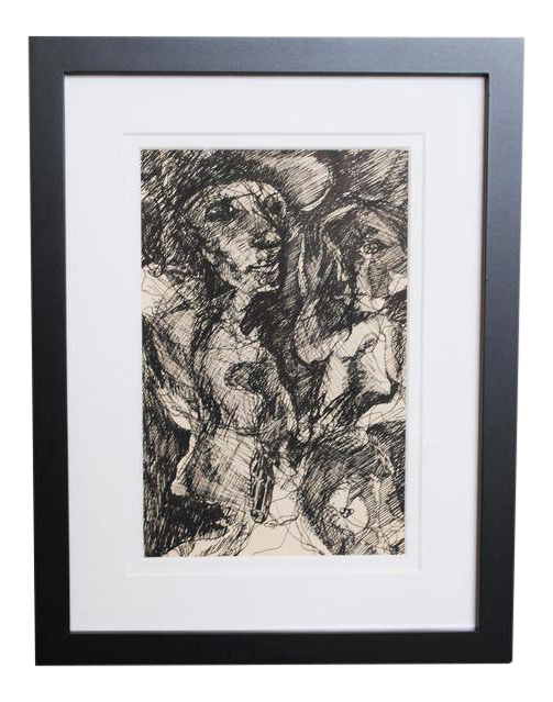 Expressionism drawing life. S expressionist chairish