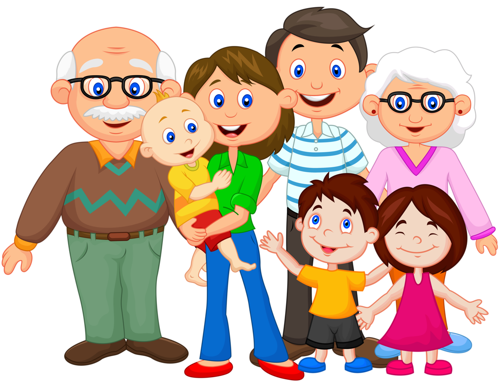 Grandparents clipart extended family. Png moja dru