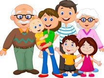 Extended clipart 3 generation family. A big download from