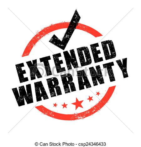 Stamp of warranty sign. Extended clipart vector transparent