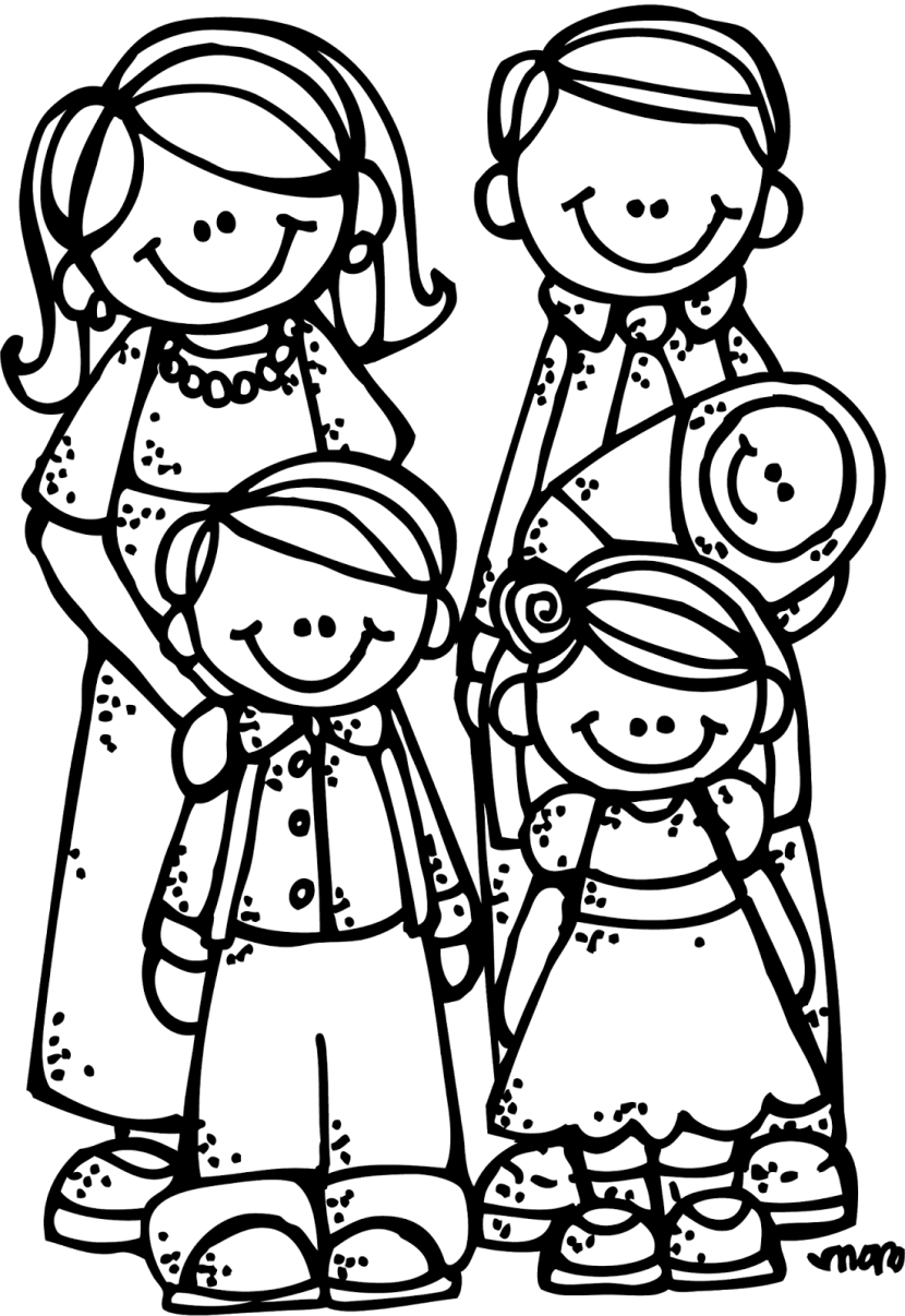 Extended clipart black family friend. Free cliparts download clip