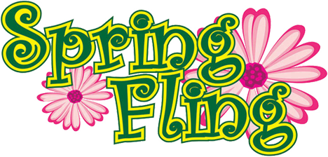 Extended clipart contest. Spring fling sign up