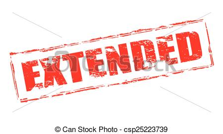 Stamp with word inside. Extended clipart contest image