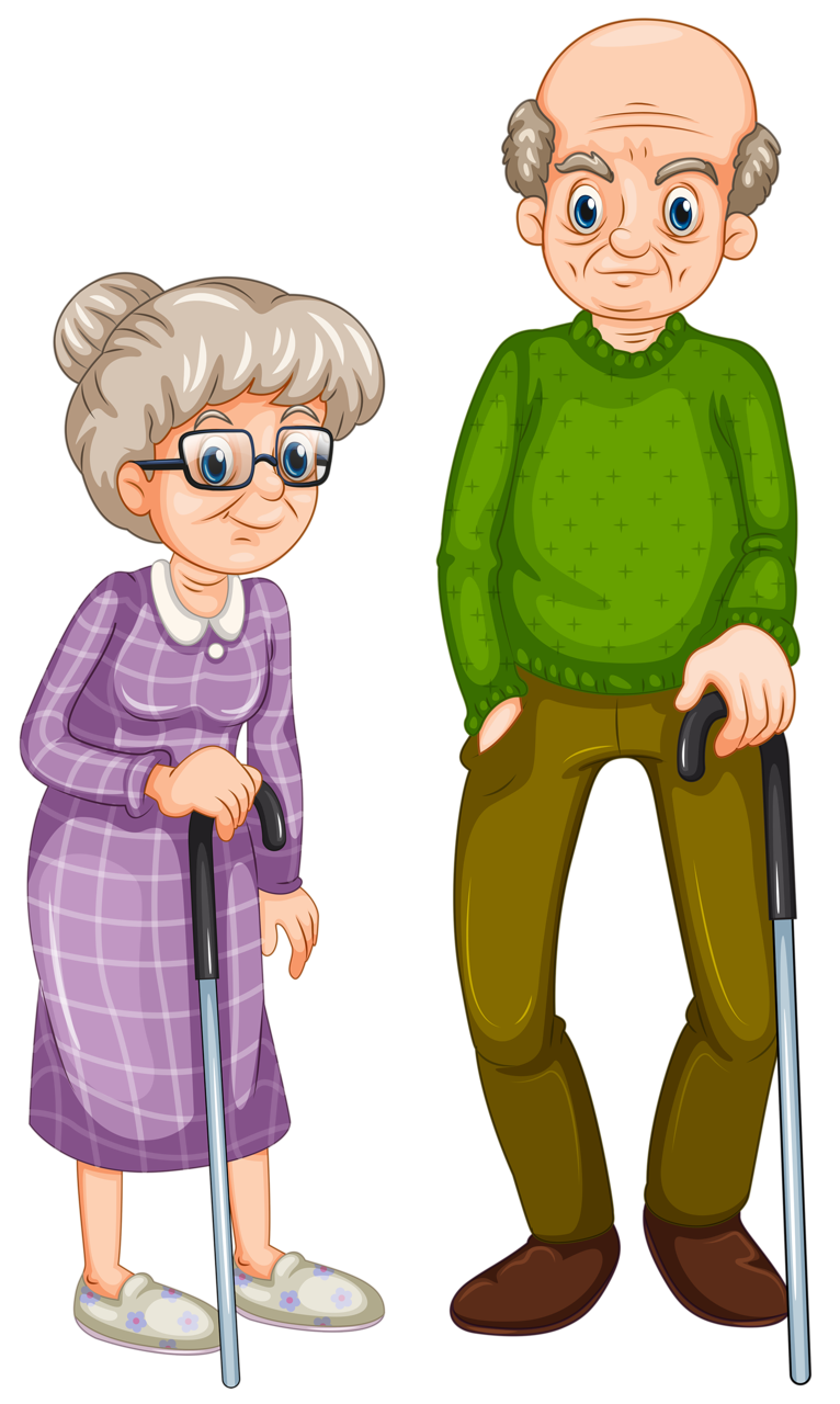 Grandparents clipart extended family. Png easy to