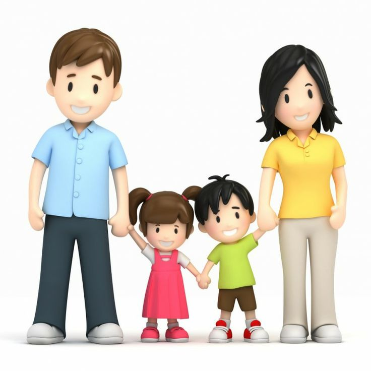 Extended clipart large family. Best images on