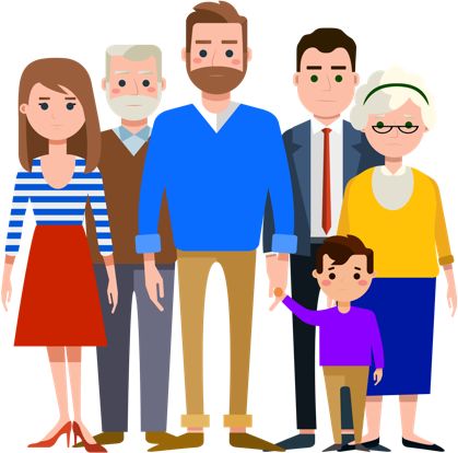 Son clipart family 6. Png extended transparent images