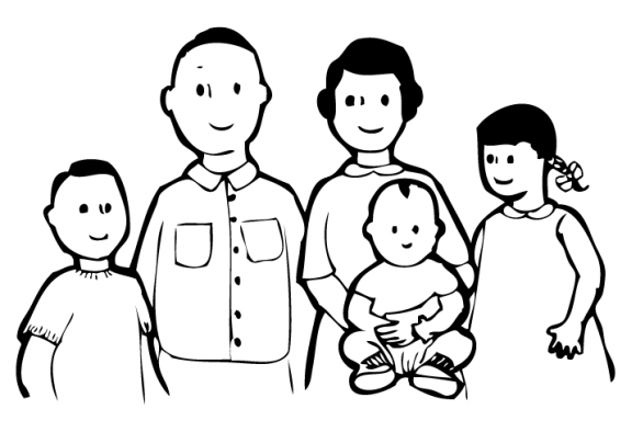 Extended clipart nuclear family. The dissolving and decline