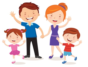 Extended clipart nuclear family. Course environmental science topic