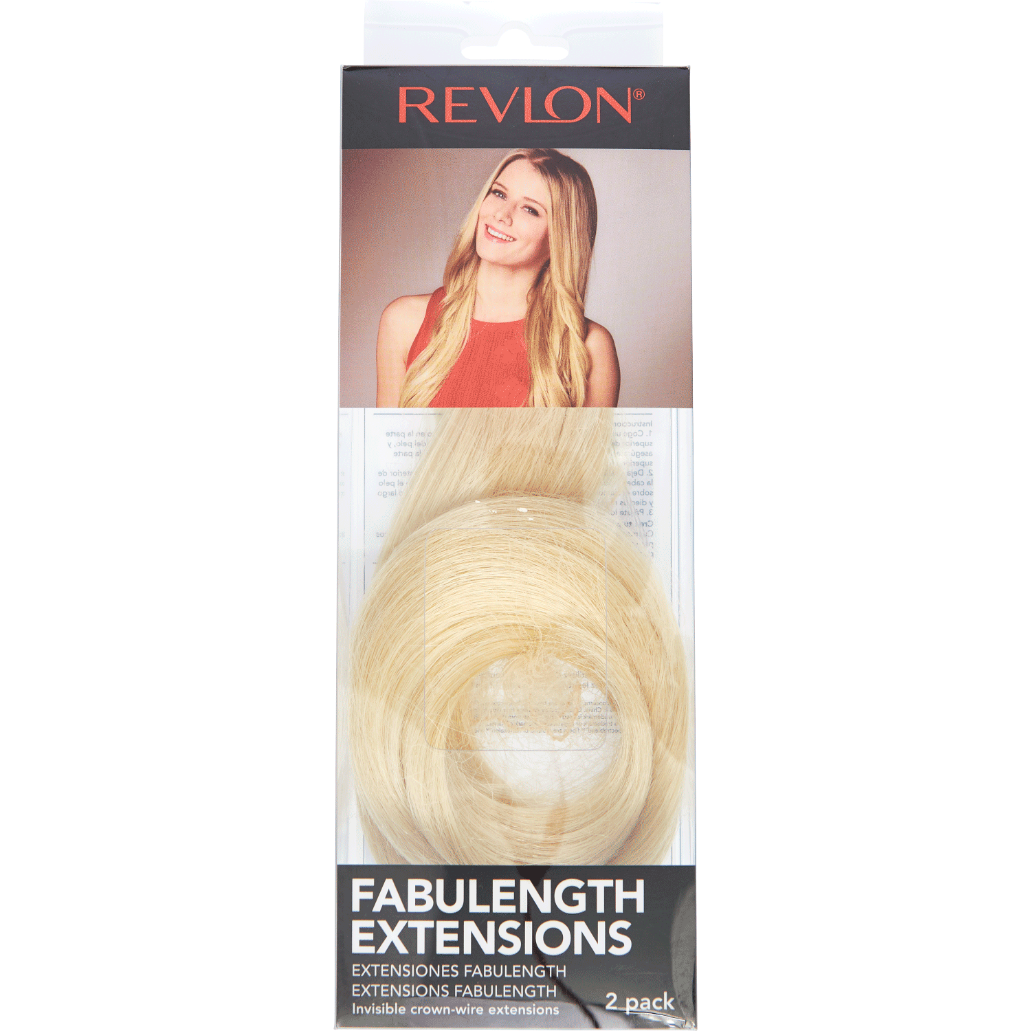 Extensiones clip 30 inch. Revlon ready to wear