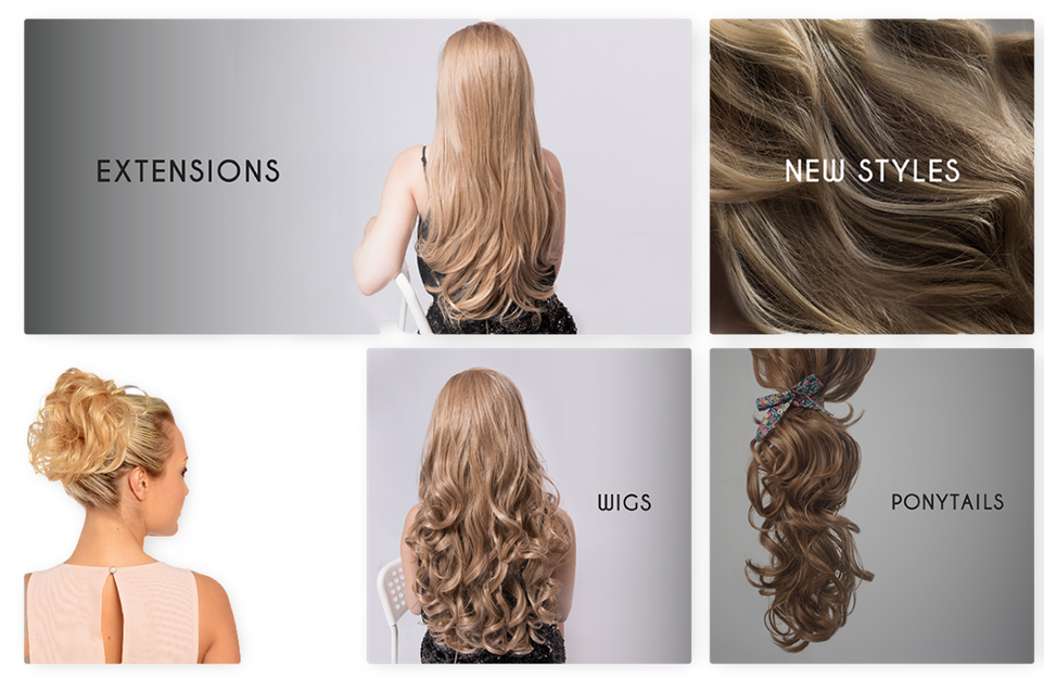 Extensiones clip one piece. Koko thick strip in