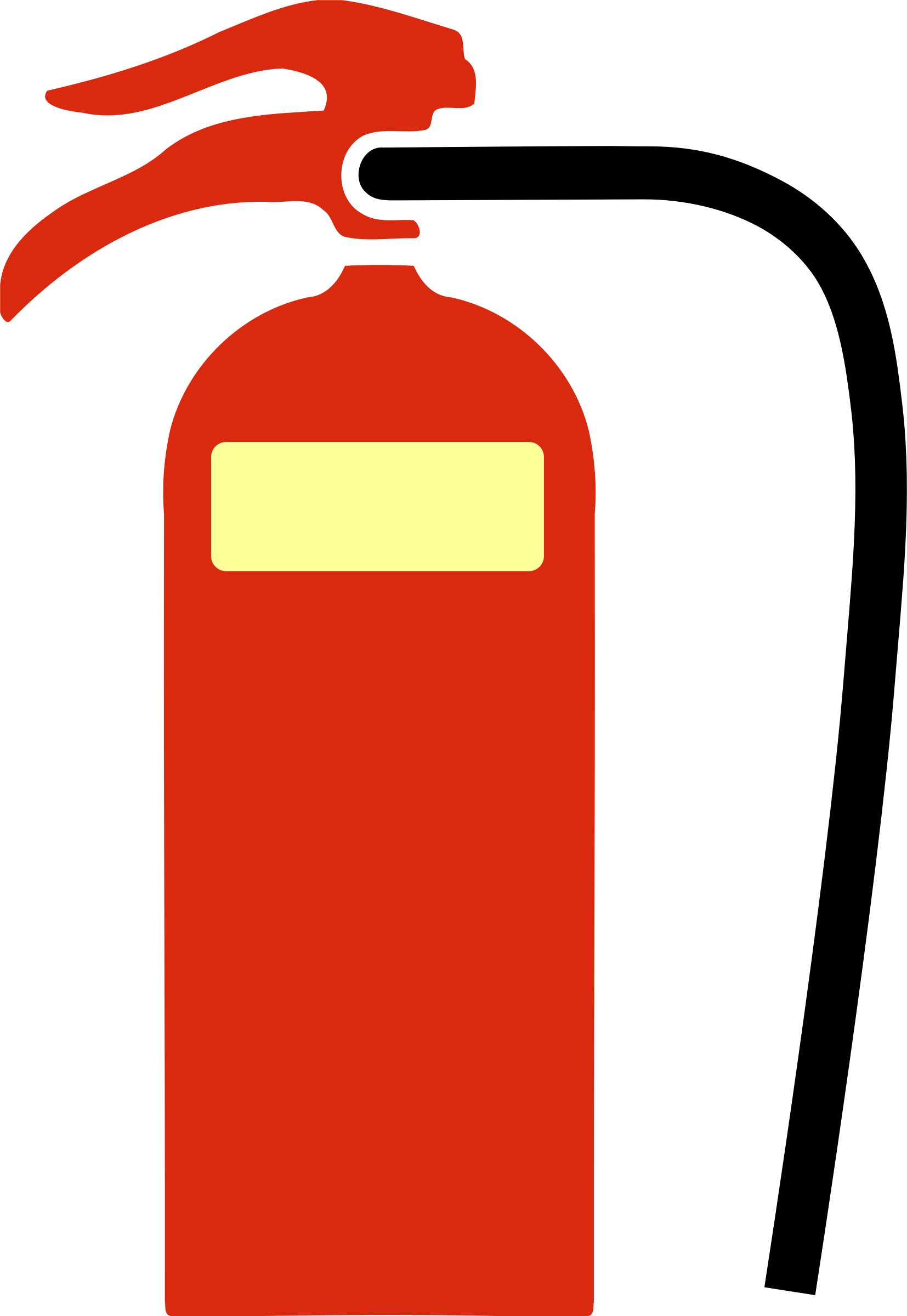 Extinguisher clipart chlorofluorocarbon. Fire foam big image