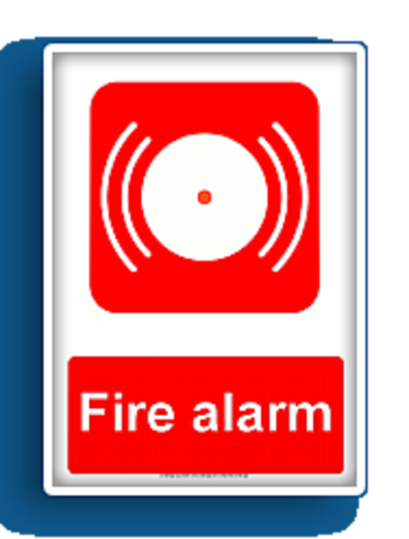 Fire equipment sign free. Alarm clipart cartoon vector freeuse library