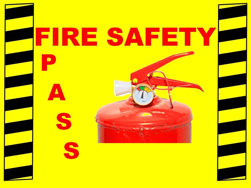 Extinguisher clipart fire fighting training. Pass safety video youtube
