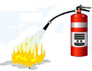 Extinguisher clipart fire fighting training. Online protection kelley integrity
