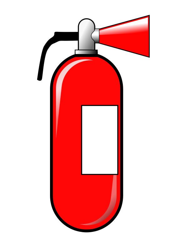 extinguisher clipart safety kid