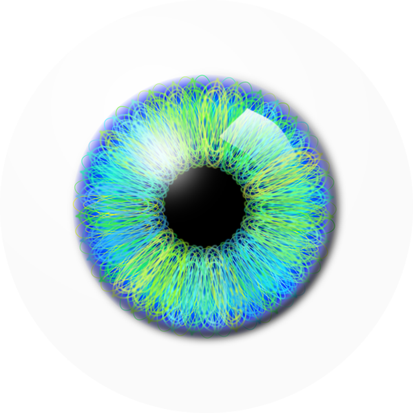pixels drawing eye