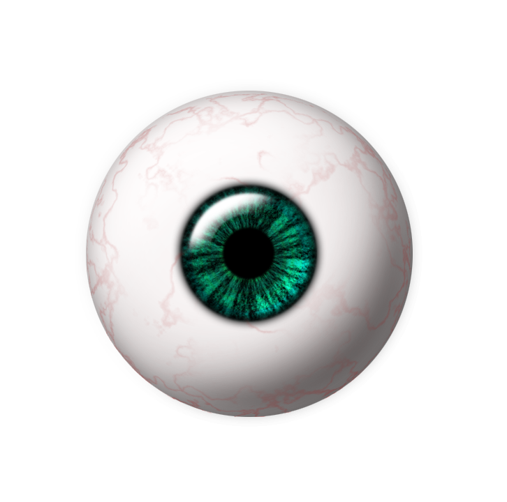 Eyeball png. By wyonet on deviantart