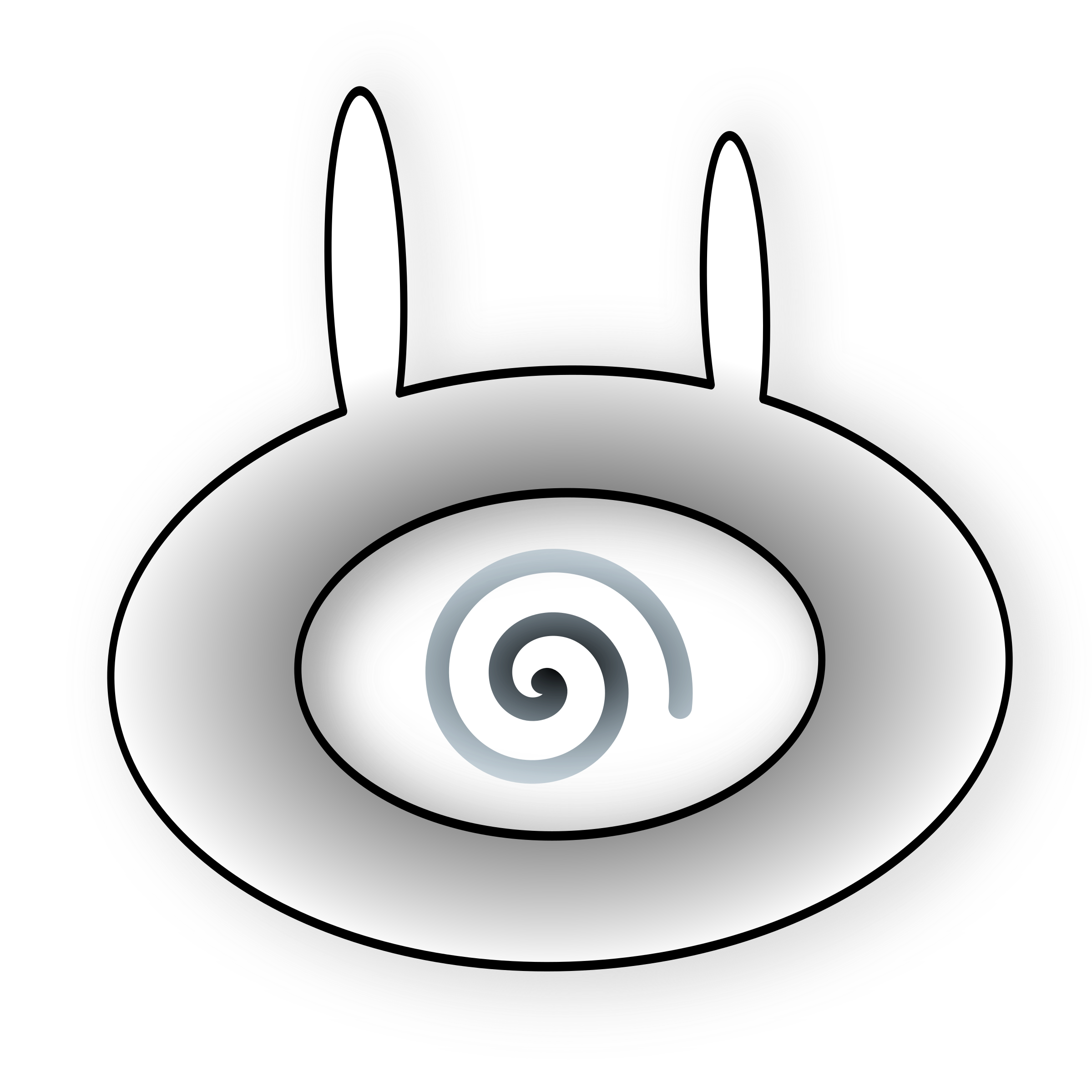 Eye clip bunny. Evil icons png free