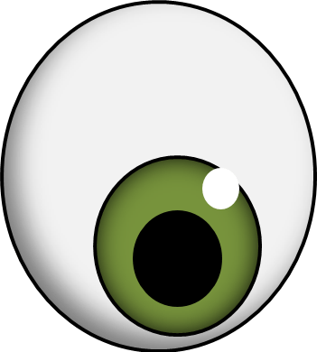 eyeball graphic library. Eye clip fish clipart download