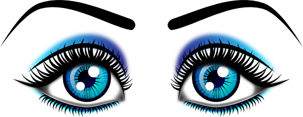 eyeball graphic library. Eye clip female royalty free