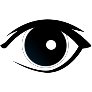 collection of eyeball. Eye clip transparent background clipart library stock
