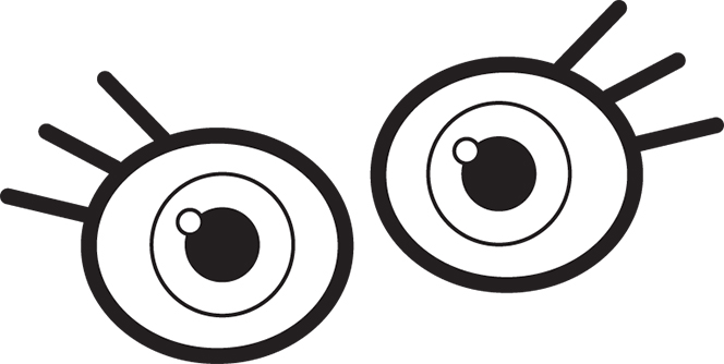 Eye clipart boys. Eyes clip art for