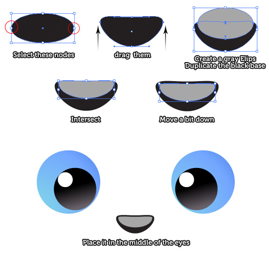 Eye clipart bunny. How to draw an
