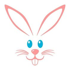 Eye clipart bunny. Easter face at getdrawings