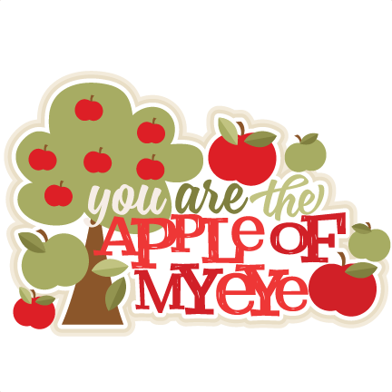 Eye clipart food. You are the apple