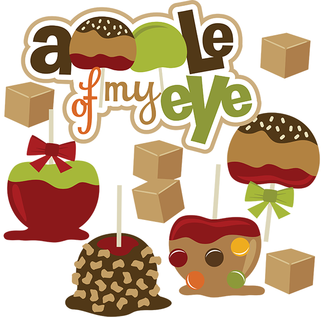 Eye clipart food. Apple of my svg
