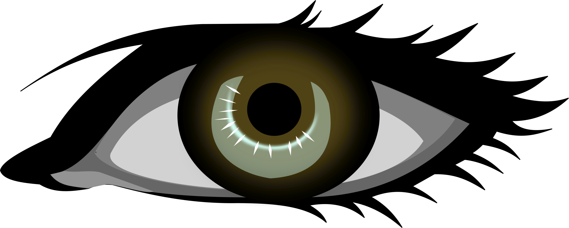 Eye clipart human eye. Viewing gallery for free