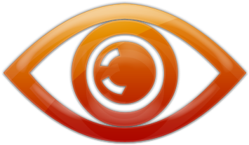Eye clipart orange. Download hd dark png
