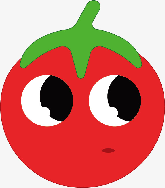 Eye clipart tomato. Cartoon decoration pattern decorate
