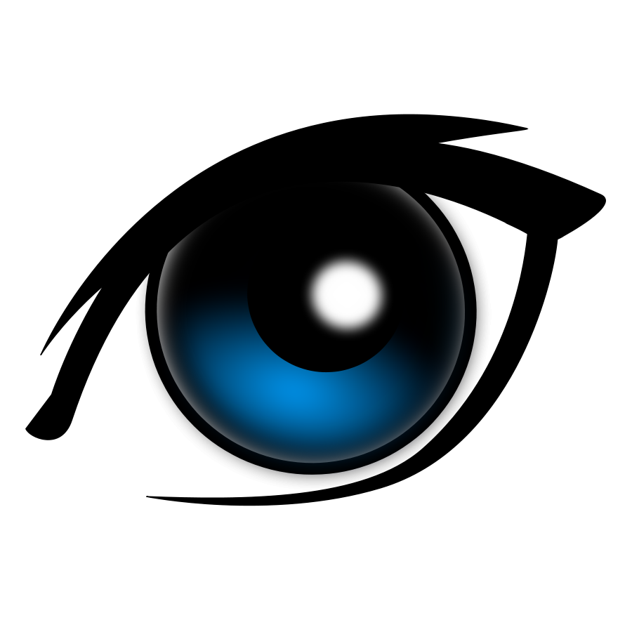 Vector eyeball horror eye. Free human cliparts download