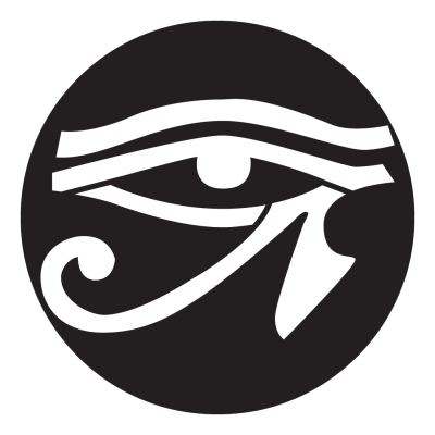 Eye of horus png. Gobo projected image