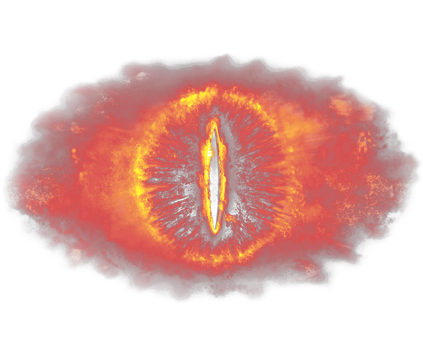 Eye of sauron png. Lord the rings men