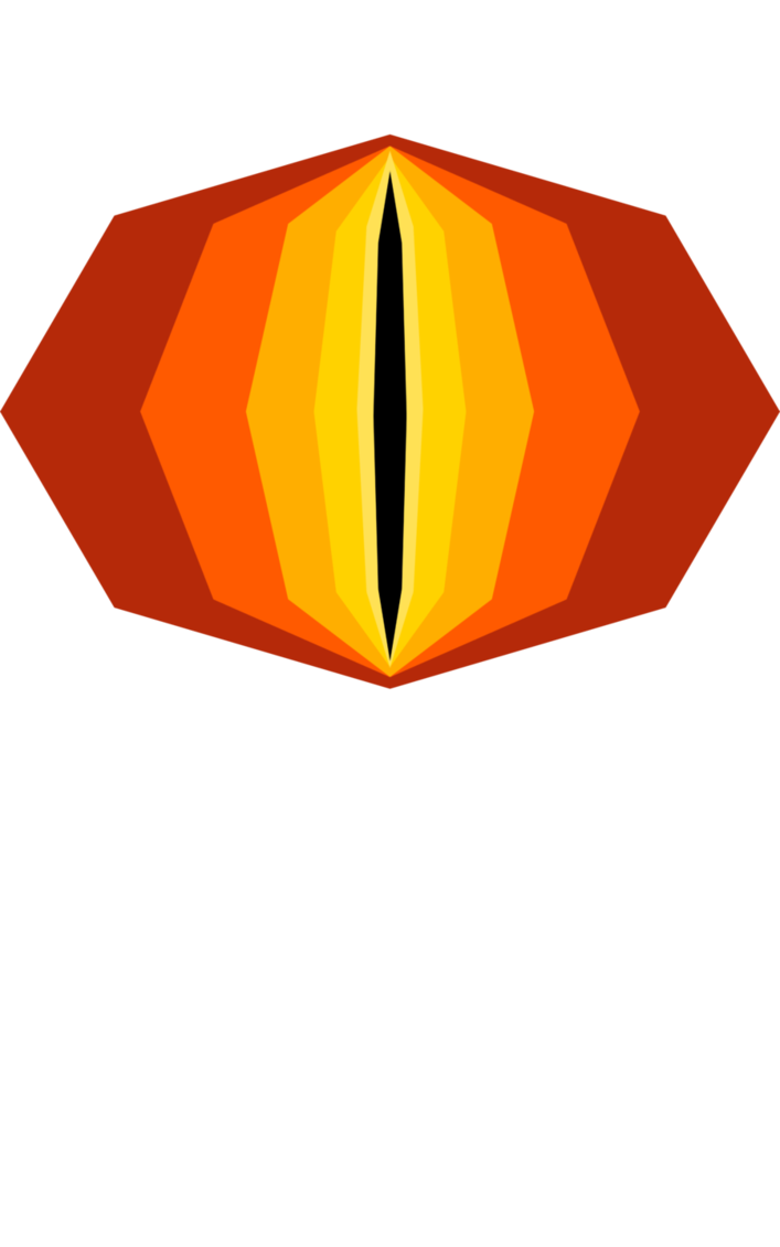 Eye of sauron png. The by splashofsummer on