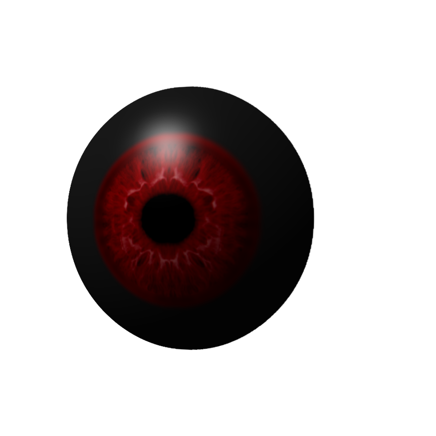 Eye png demon. Realistic ish by ilovethepanda