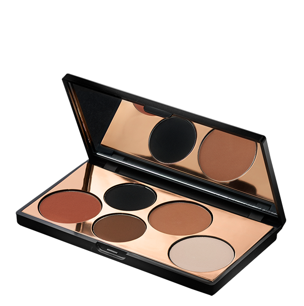 Eye shadow png. The minimalist eyeshadow palette