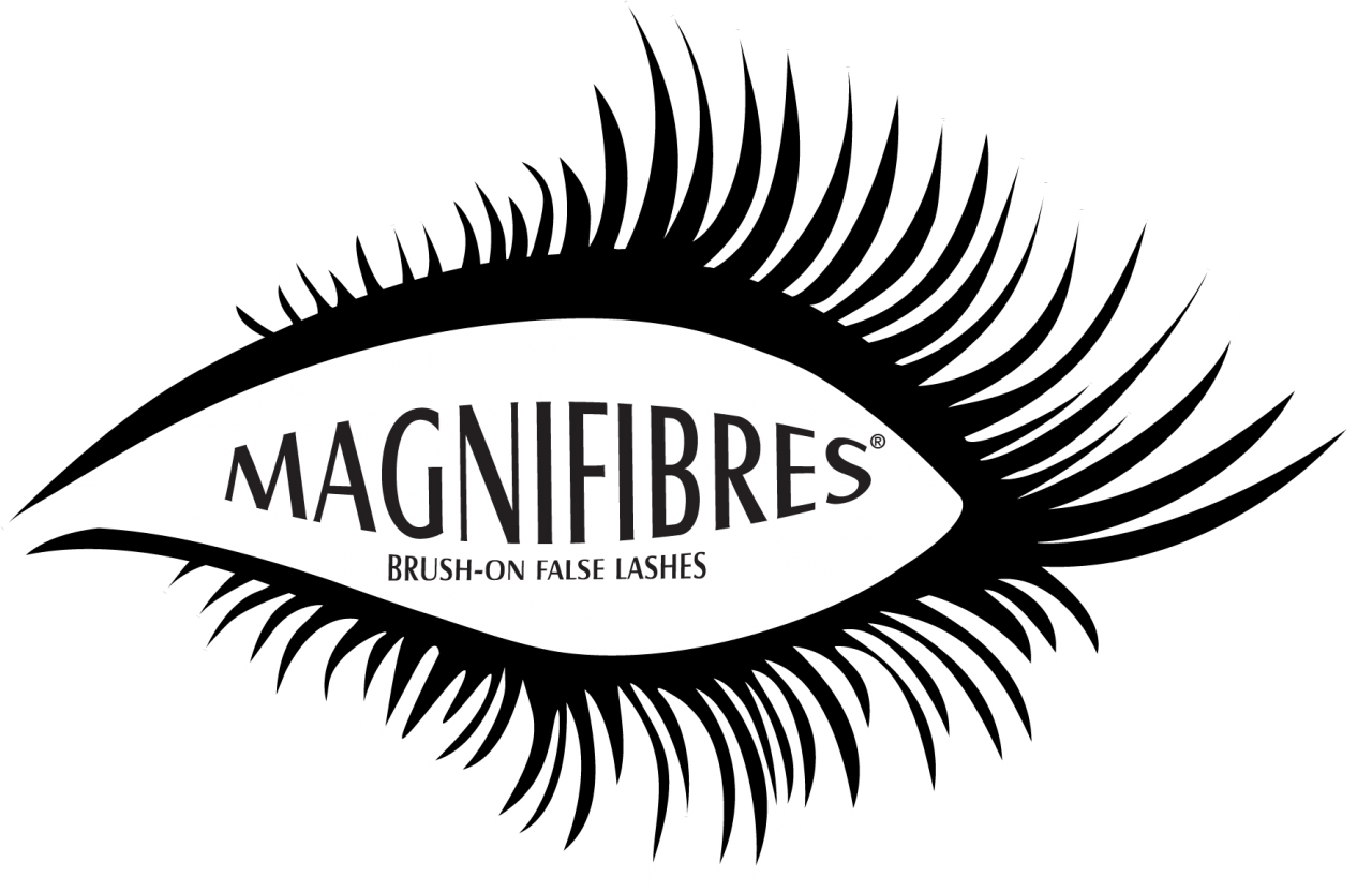 Eye with lashes png. Magnifibres brush on false