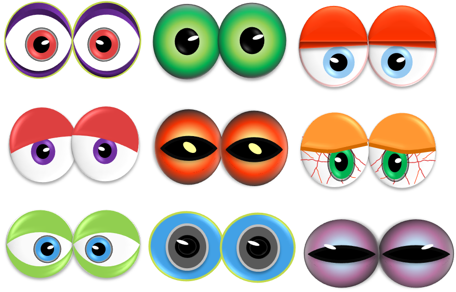 eye clipart boys