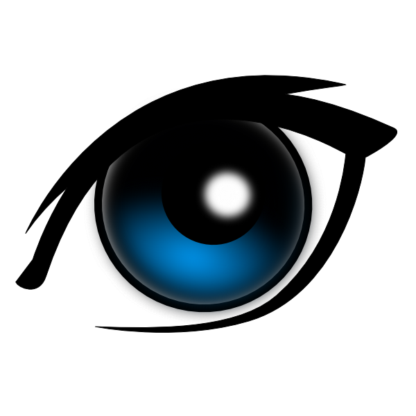 eye clipart sad