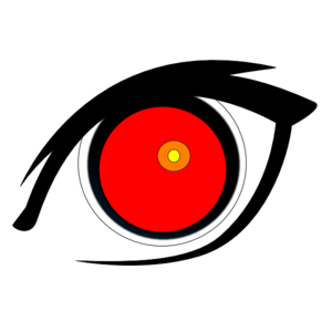 Bloodshot eye frames illustrations. Eyeball clipart vigilant vector
