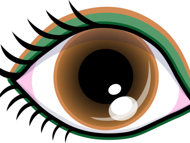 graphic library beautiful. Eyeball clipart vigilant black and white