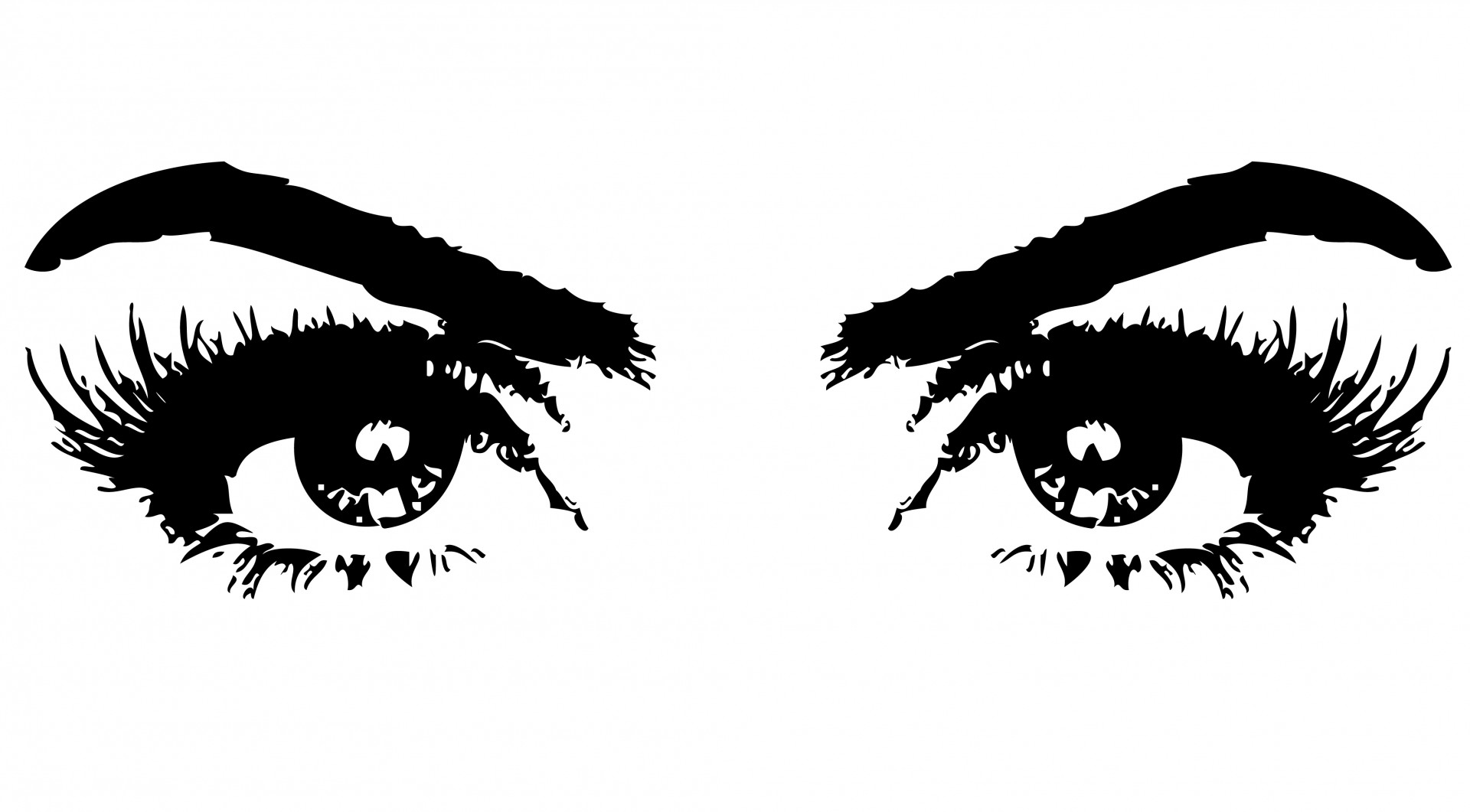 Eyeball clipart vigilant. Eyes of woman eye