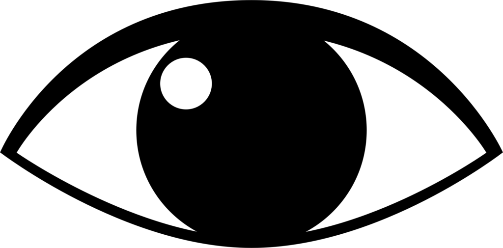 Eyeball clipart vigilant. Eye of typegoodies me