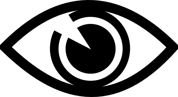 Visual impairment x dumielauxepices. Eyeball clipart vigilant graphic download