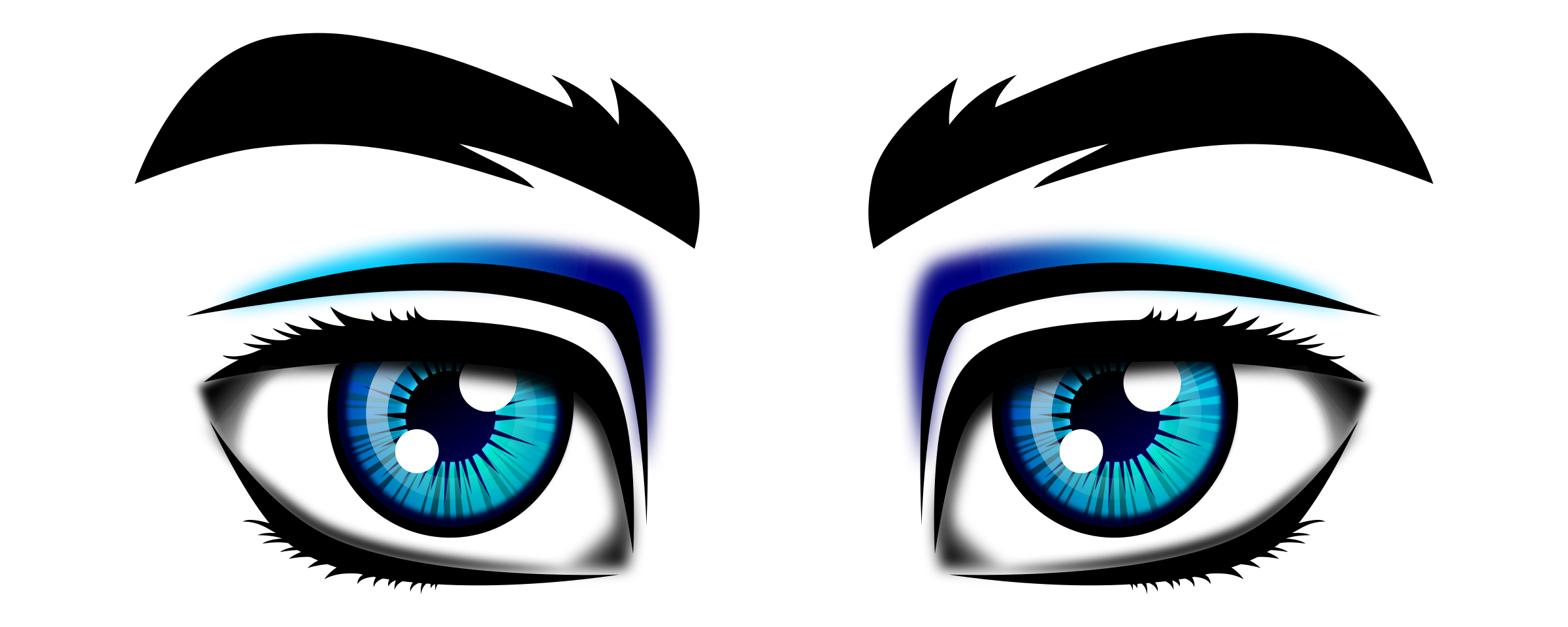 Eyeballs clipart male eye. Eyes big image png