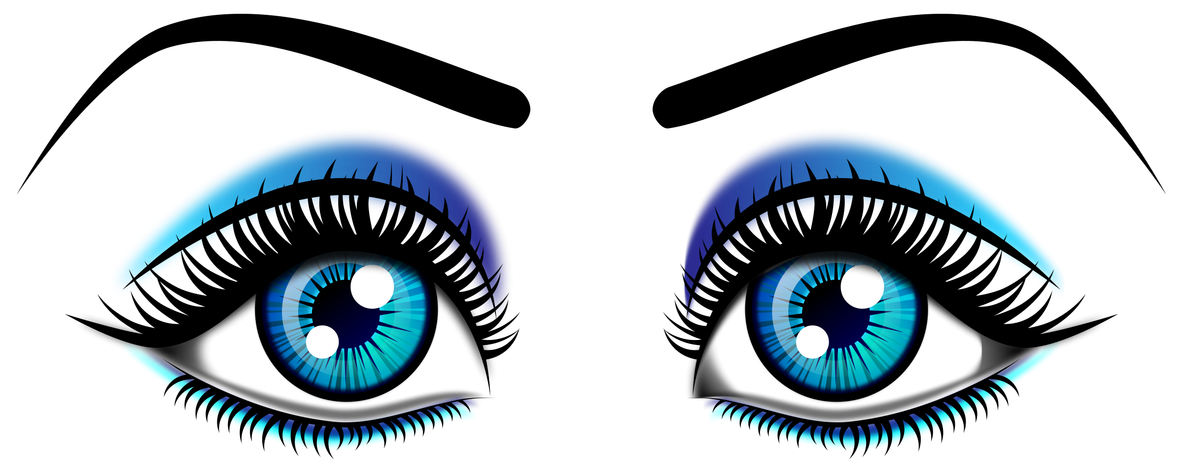 Eye clipart transparent background. Free eyes cliparts download